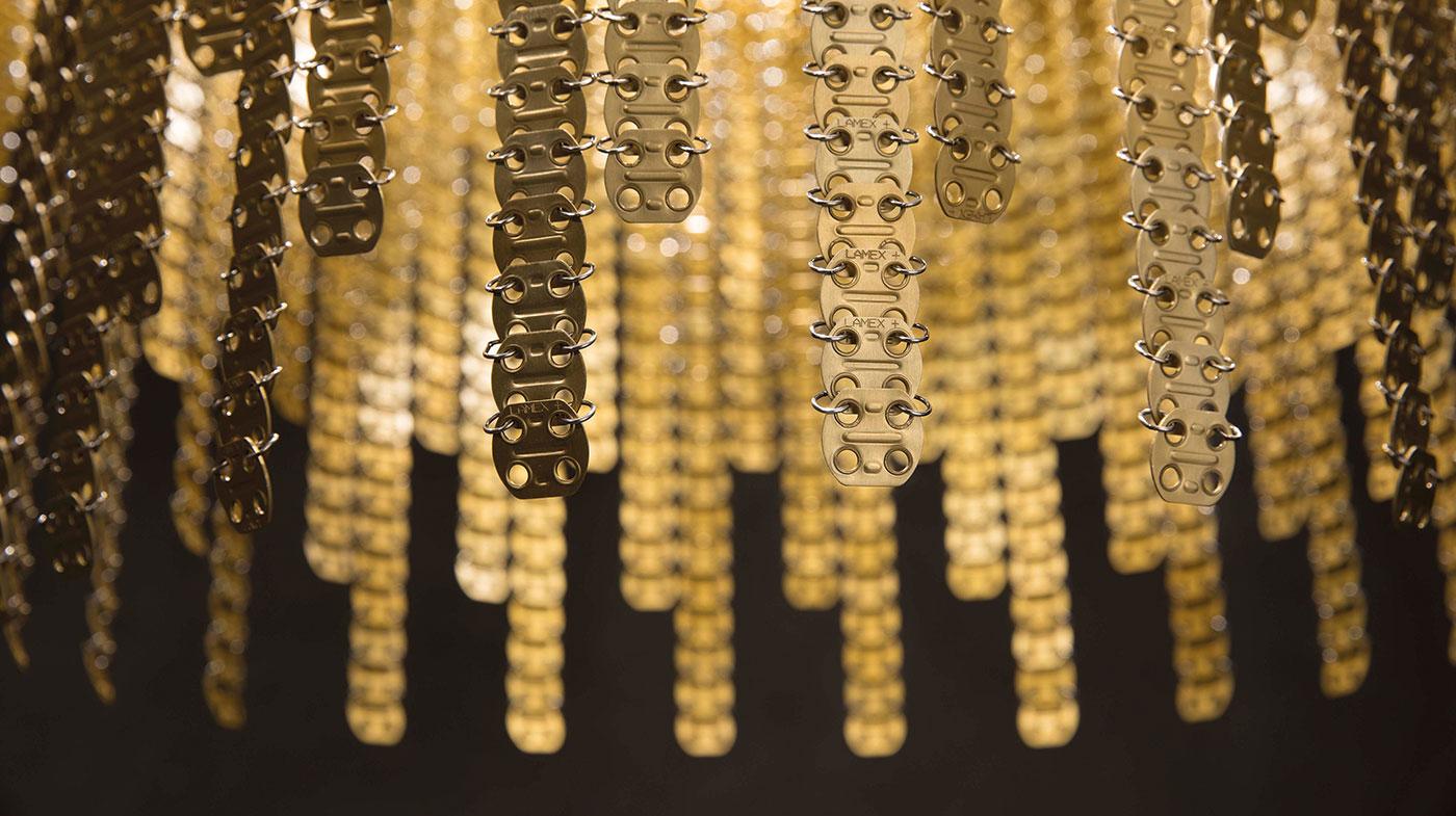 RAIN detail 1 gold aluminum